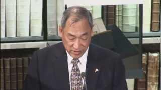 Beethoven-Soiree Jap 03.Einfuehrung Prof.Dr.R.Higuchi,Tokio