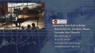 Beethoven-Soiree Jap 06.Musikalischer Ausklang Pianist C.Barzantny
