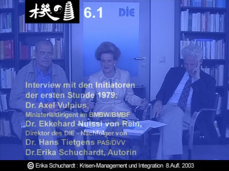 KMI 02 - Interview mit den Initiatoren der 1. Stunde 1979: A.Vulpius, H.Tietgens, E. Nuissl von Rein