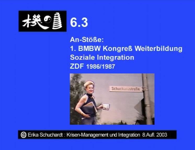 KMI 07 - An-Stoesse - 1. BMBW Kongress Weiterbildung, ZDF 1986-87