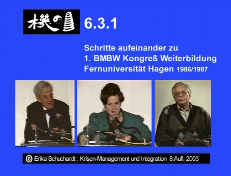 KMI 08 - Schritte aufeinander zu 1. BMBW Kongress, FernUni Hagen