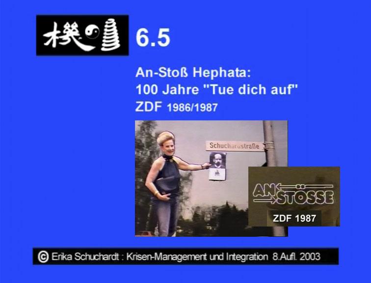 """KMI 11 - An-Stoss und Appell """"Hephata"""" - 100 Jahre """"Tue dich auf"""" ZDF 1986-87"""