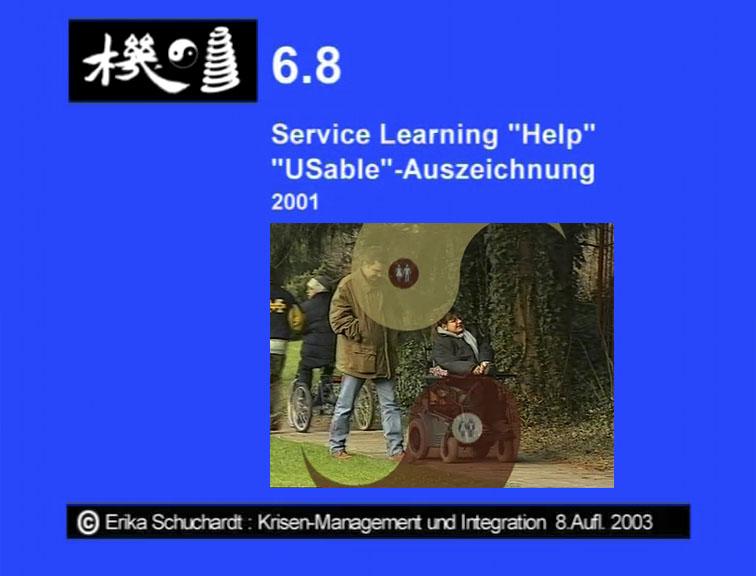 "KMI 13 - Service Learning ""Help"" ""Usable""-Auszeichnung 2001"