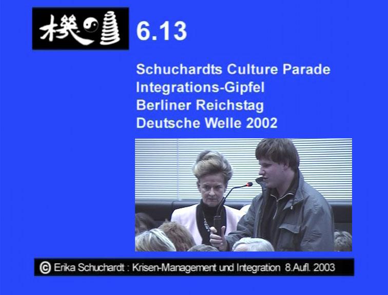 KMI 16 - Schuchardts Culture Parade Integrations-Gipfel im Berliner Reichstag DW 2002