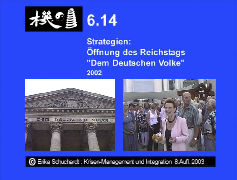 """KMI 17 - Strategien: Öffnung des Berliner Reichstags """"Dem Deutschen Volke"""" 2002"""